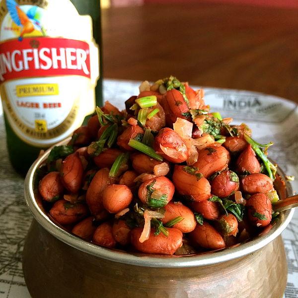 Masala Peanuts, a classic Bangalore treat!