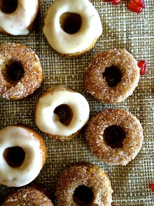 Apple Cinnamon Brown Butter Baked Doughnuts - Soul Spices ...