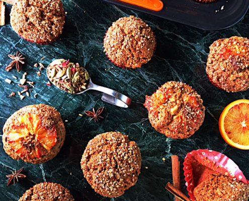 receta muffins chai