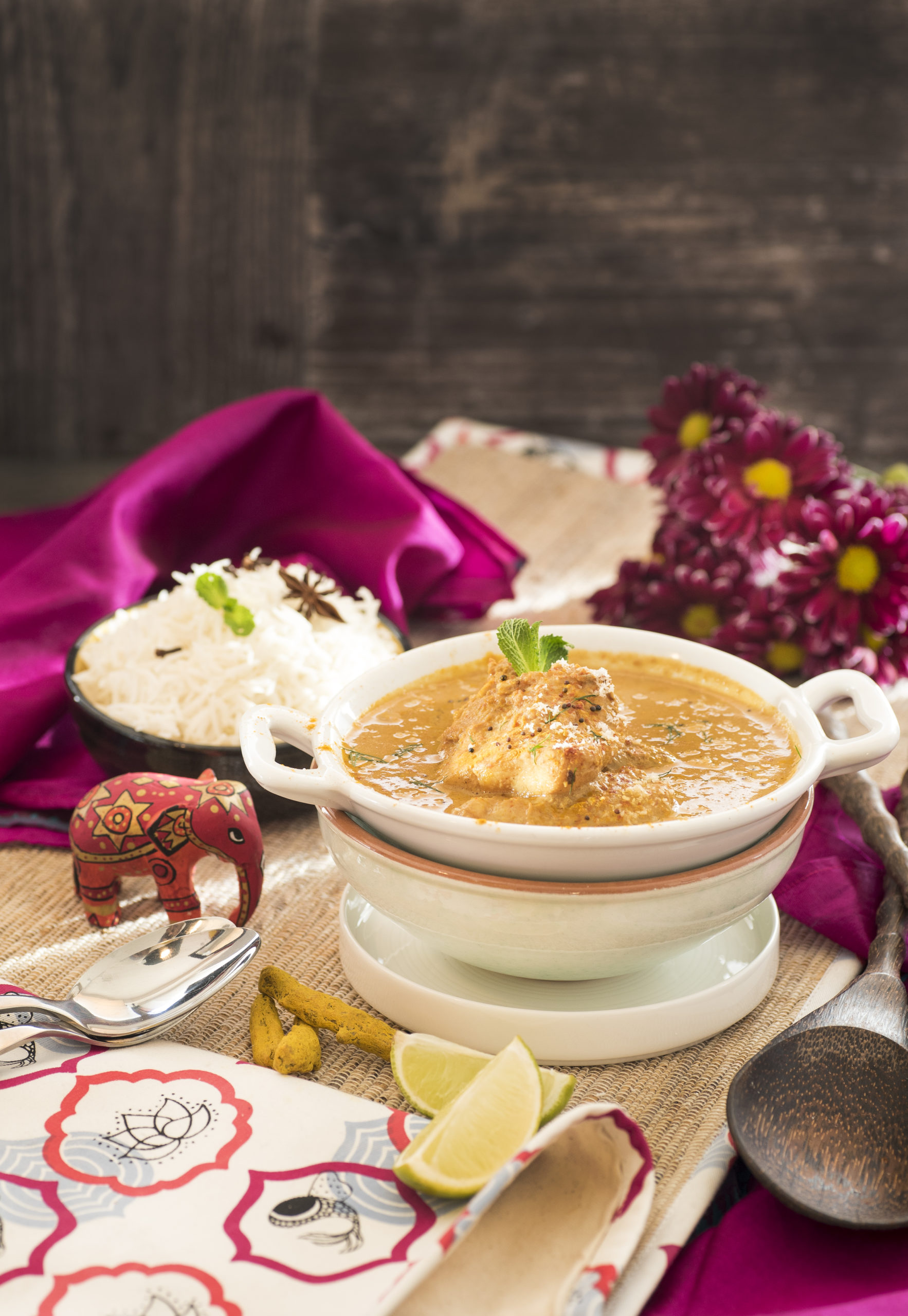 Goan fish curry rice-466 F