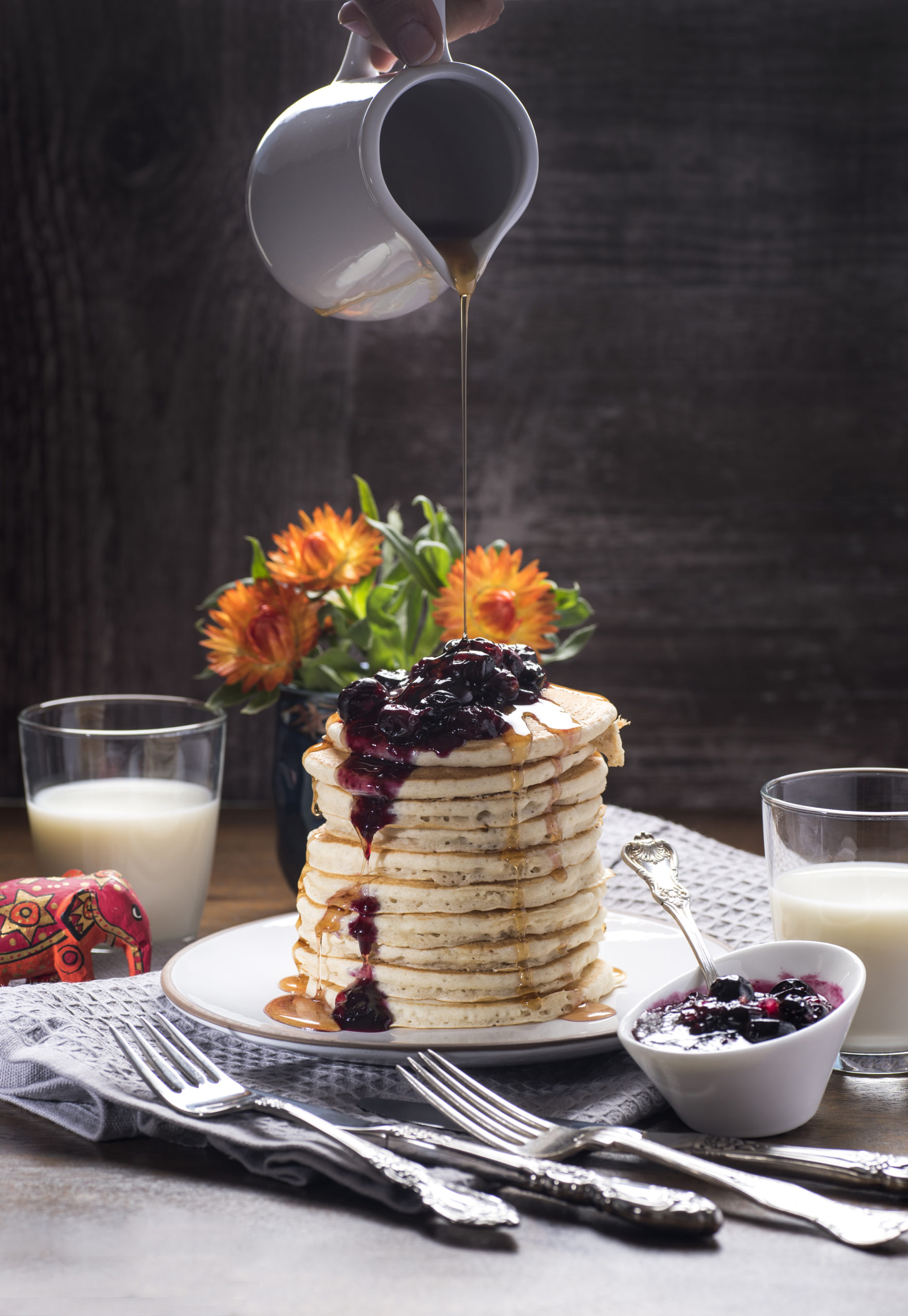Pancake blueberry-64 F