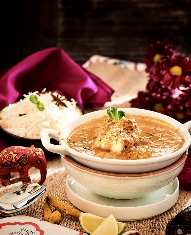 Curry de pescado al estilo goan, con tamarindo y coco