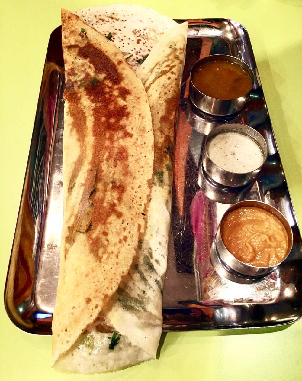 Chennai Masala Dosa