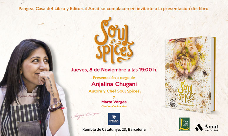 Soul Spices book event at Pangea
