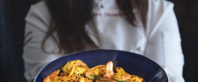 Kerala Style Shrimp