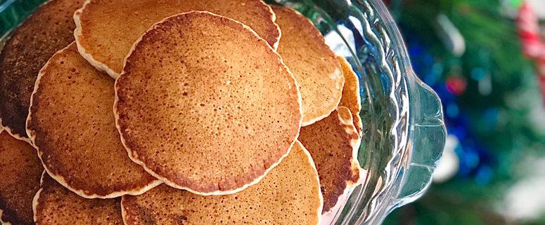 Ghee & Cinnamon Pancakes